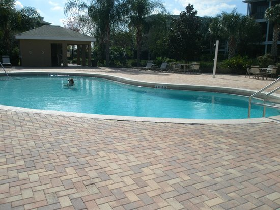 Bahama Bay Resort Orlando by Wyndham Vacation Rentals:                   one of four heated pools