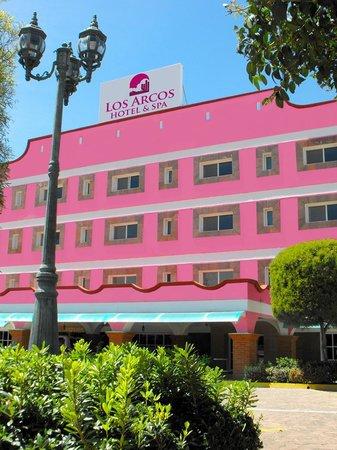 Los Arcos Hotel and Spa:                   Fachada del Hotel