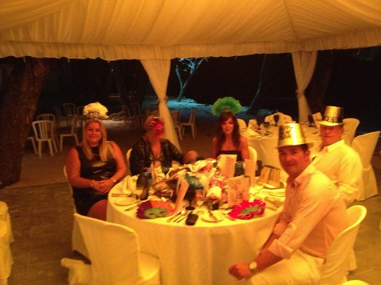The Club, Barbados Resort & Spa:                   new years eve / old years night ?