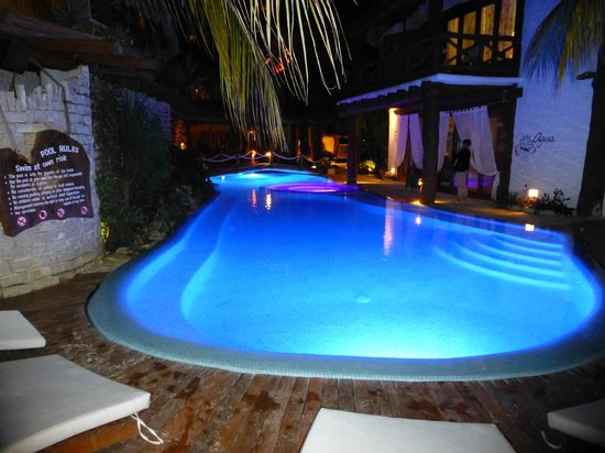 Holbox Hotel Casa las Tortugas - Petit Beach Hotel & Spa: Pool