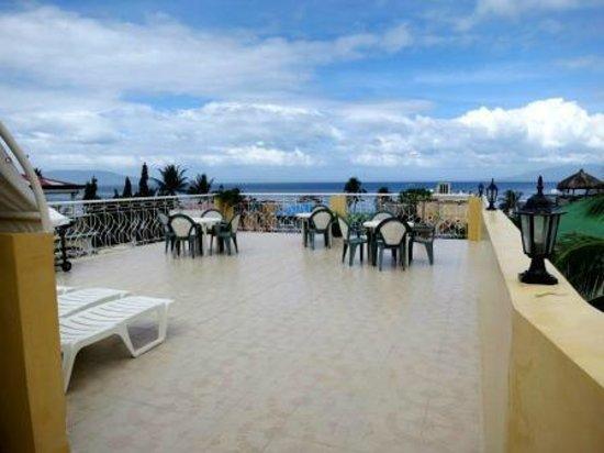 Sabang Oasis Resort:                   La terrasse au dernier étage