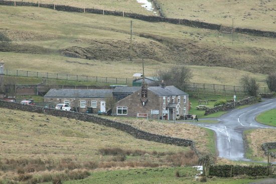 Milecastle Inn: View from Hadrians Wall
