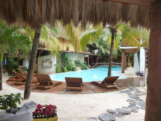 Pool picture of holbox hotel casa las tortugas petit beach hotel spa holbox island - Holbox hotel casa las tortugas ...