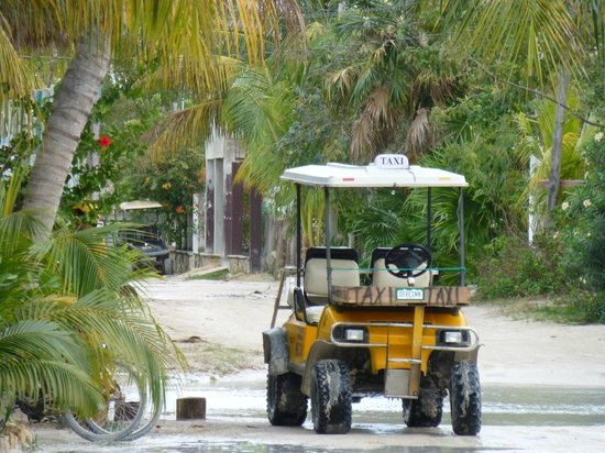 Holbox Hotel Casa las Tortugas - Petit Beach Hotel & Spa: Holbox Island Taxi