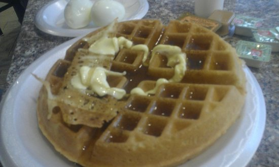 MOXY New Orleans Downtown/French Quarter Area: Waffle (free breakfast).