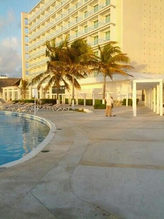 Krystal Cancun:                                                                         le matin