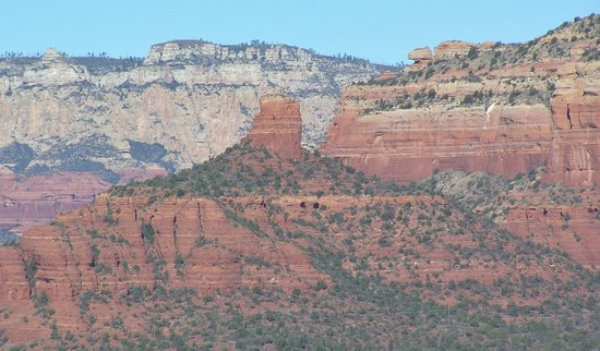 Sky Ranch Lodge: The Red Rocks of Sedona-as Viewed from Our Room