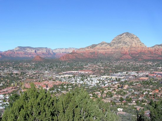 Sky Ranch Lodge: Another Gorgeous View from Our Room of Downtown Sedona