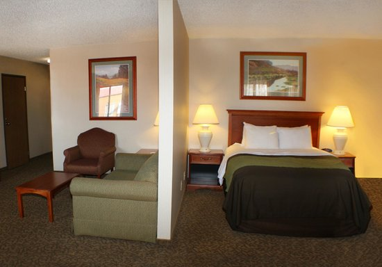 Comfort Inn Buffalo Bill Village: Queen Suite