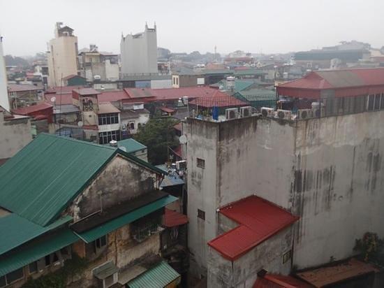 Hanoi Elegance Ruby:                   view from room 705 (junior suite)                 