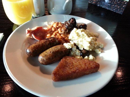 DoubleTree by Hilton Hotel Newcastle International Airport:                   My breakfast.