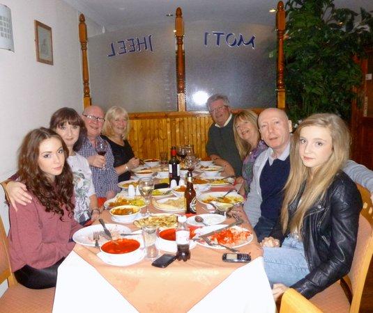 Dinner for 8 at the Moti Jheel