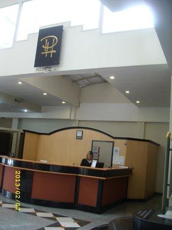 San Nicolas Plaza Hotel: Recepcion