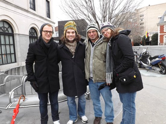 DC Insider Tours: Snow in early February didn't keep away these brave travelers!