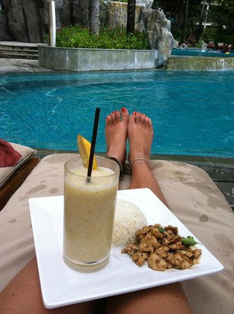 Centara Grand Beach Resort & Villas Krabi:                   Pur relaxation, awesome poolside service to boot..xx