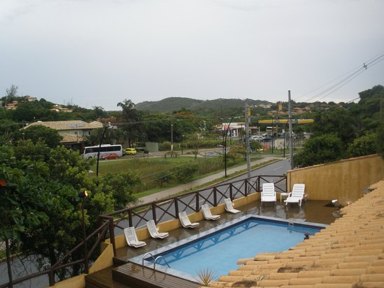 Barra da Lagoa Hotel:                                     Vista desde habitacion 12