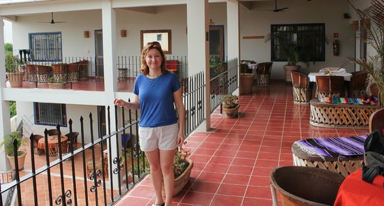 Hotel La Quinta del Sol:                                     Balcony area outside your room