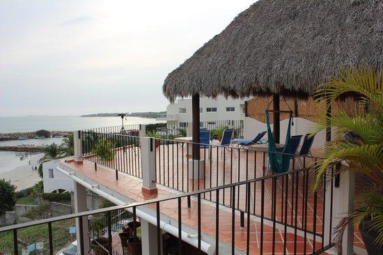 Hotel La Quinta del Sol:                                     Rooftop deck