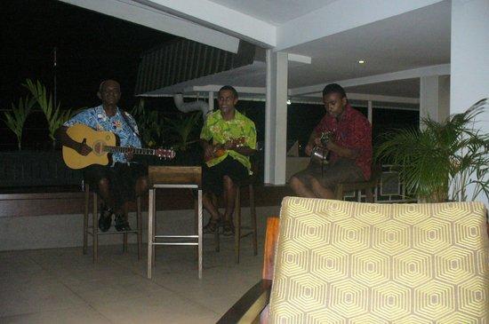Novotel Suva Lami Bay:                                     Live music