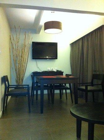 Novotel Suva Lami Bay:                                     Lounge area