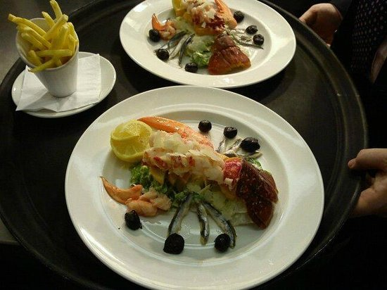 The Manor Park Hotel: lobsters paradise