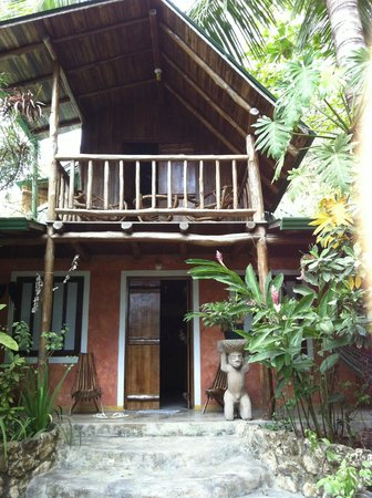 Pachamama Tropical Garden Lodge:                   The house