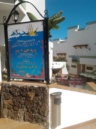 Aparthotel Esquinzo Y Monte Del Mar Hotel: el marinero...cucina buena...Italian-Ischia Style
