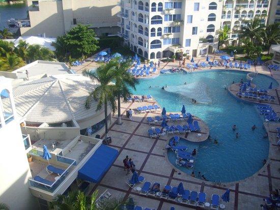 Barcelo Costa Cancun:                   Vista desde mi habitacion