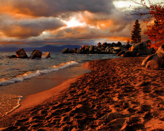 Tahoe Photographic Tours: East Shore Sunset