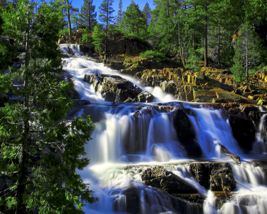 South Lake Tahoe, CA: Glen alpine Falls