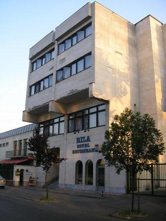 Rila Hotel:                   fachada