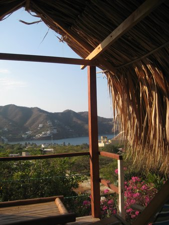 Casa Los Cerros:                   Our view as we ate breakfast each morning...