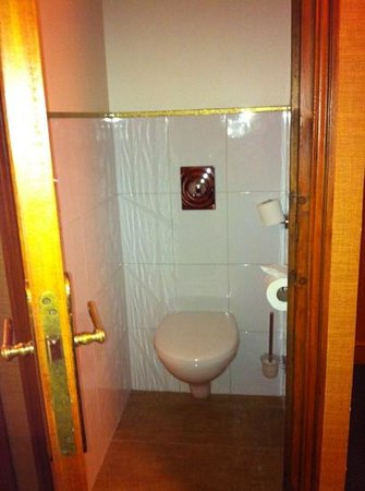 Hotel Saint Paul Rive Gauche: separate toilet