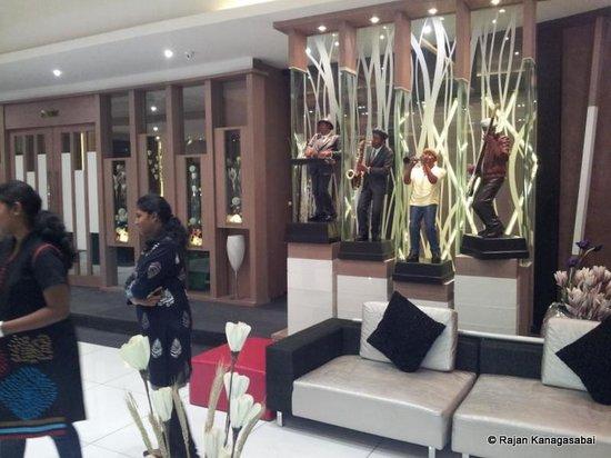 Vijay Park inn: The Reception
