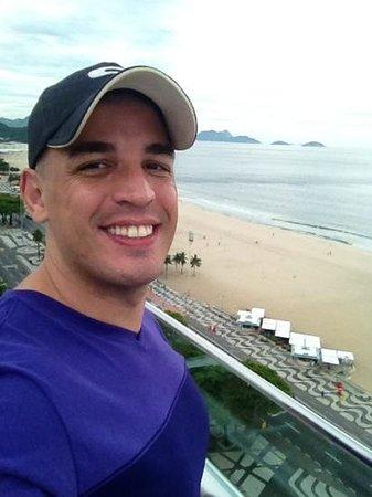 Arena Copacabana Hotel:                   Praia de Copacabana