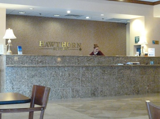 Holiday Inn Express & Suites Blacksburg - University Area:                   reception