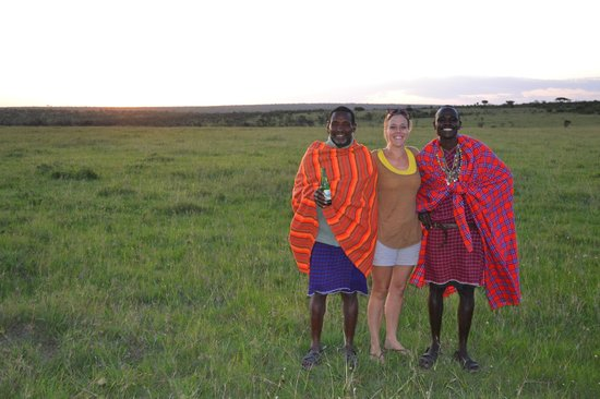 Naboisho Camp, Asilia Africa:                   Our guides