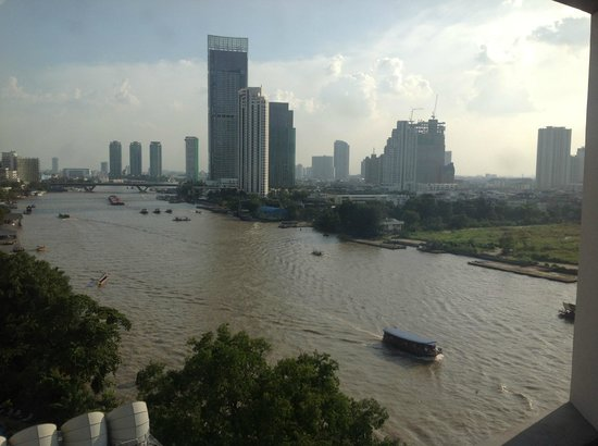 Royal Orchid Sheraton Hotel & Towers:                   View from the Junior Suite, 4th floor, Royal Orchid, Bangkok