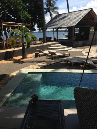 Lilin Lovina Beach Hotel:                   view from our room