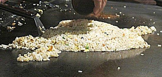 Benihana :                   Fried rice