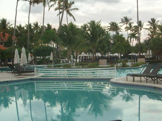 Dreams Palm Beach Punta Cana:                   One of the main pools