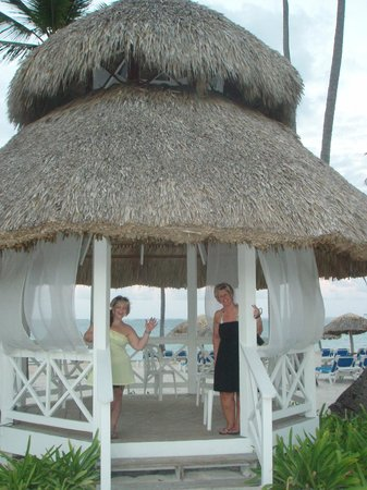 Dreams Palm Beach Punta Cana:                   Gazebo by beach