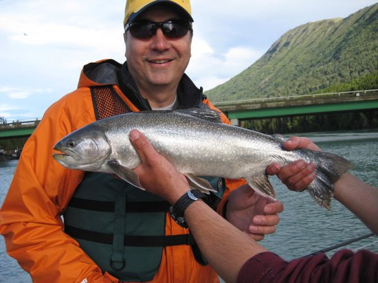写真Alaska Kenai Fishing for Fun枚