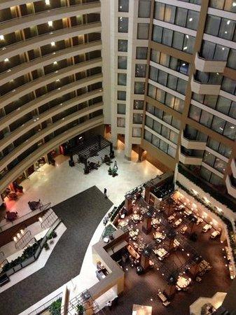 Sheraton Birmingham Hotel : main atrium