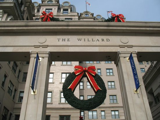 Willard InterContinental Washington:                   The Willard InterContinental ~ Christmas 2012
