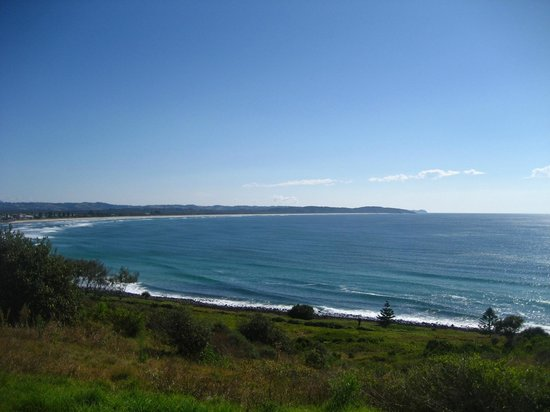 Lennox Head Beach: Lennox Head lookout