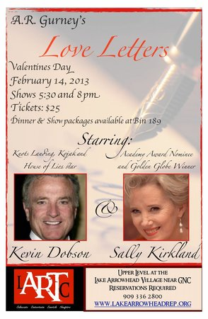 Lake Arrowhead Repertory Theatre Company : lover letters 2013