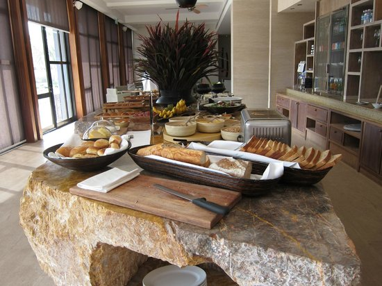 Hyatt Regency Danang Resort & Spa :                                     breakfast at the club regency