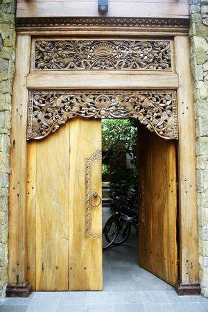 Swarapadi Villa:                   Front Door