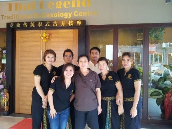 Thai Legend Traditional Reflexology Centre: Thanks for Hui Ge visiting our's shop